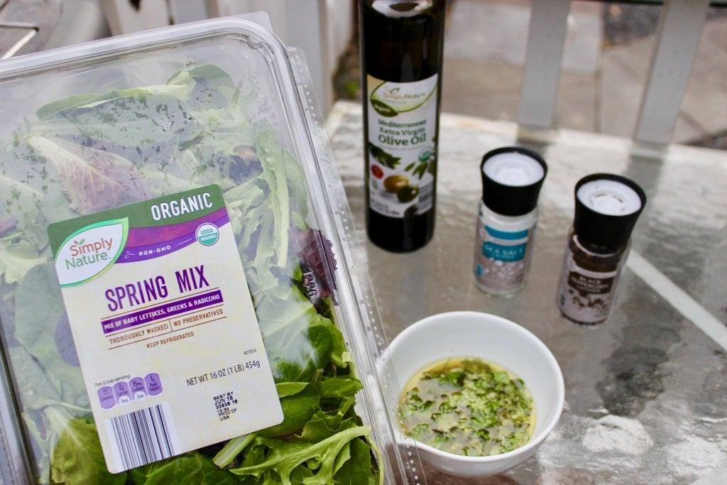 aldi organic spring mix