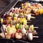 Summer Dinner Party Idea: Create Your Own Kabobs