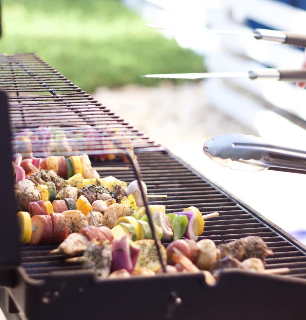 make your own kabob party