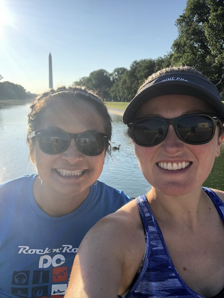 washington dc running blogger