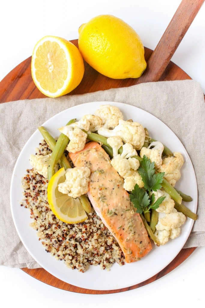 Mix & Match Sheet Pan Dinners salmon