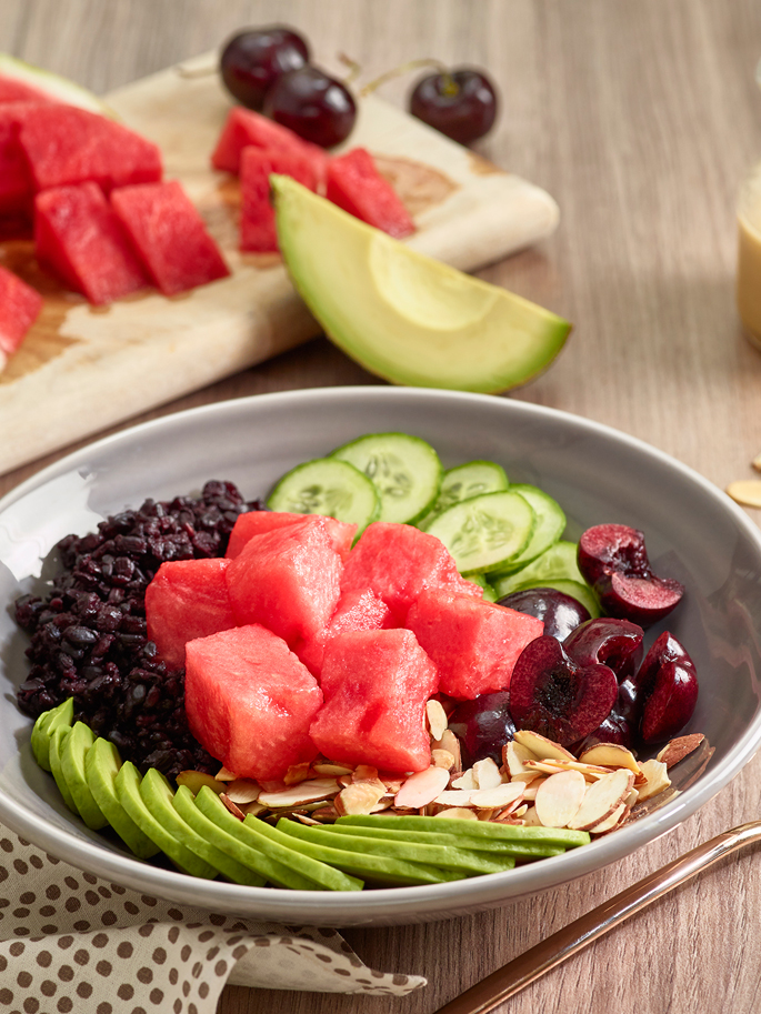 watermelon buddha bowl