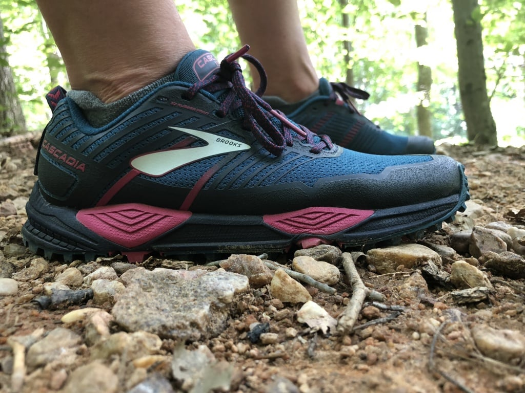 brooks cascadia trail shoe