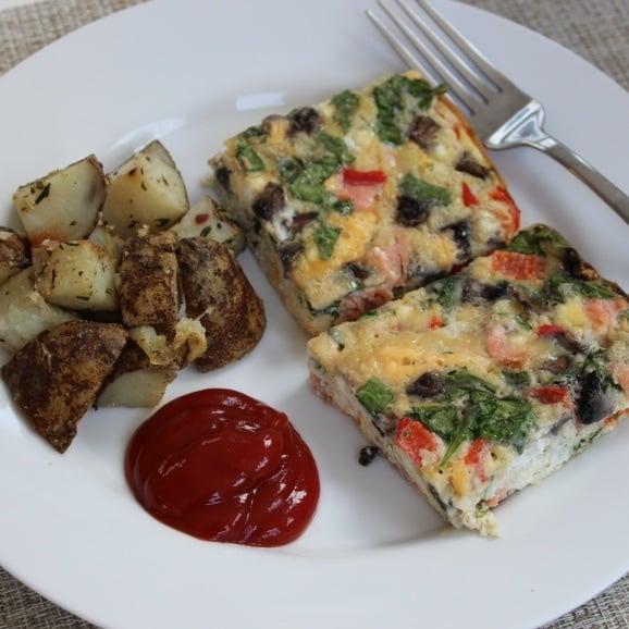 leftover make ahead egg casserole