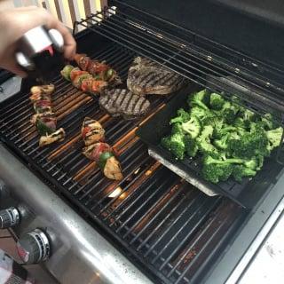 grill night skewers