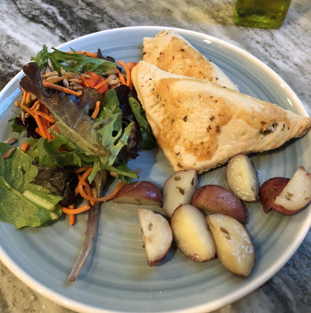 homemade salmon empanadas