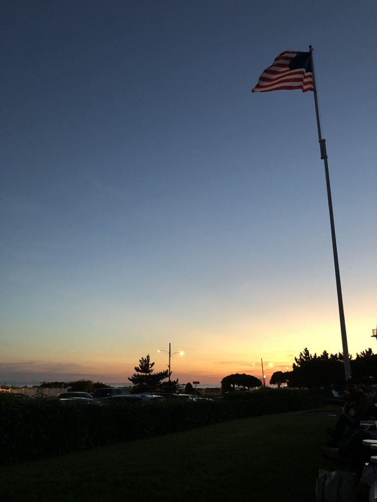 cape may congress hall sunset