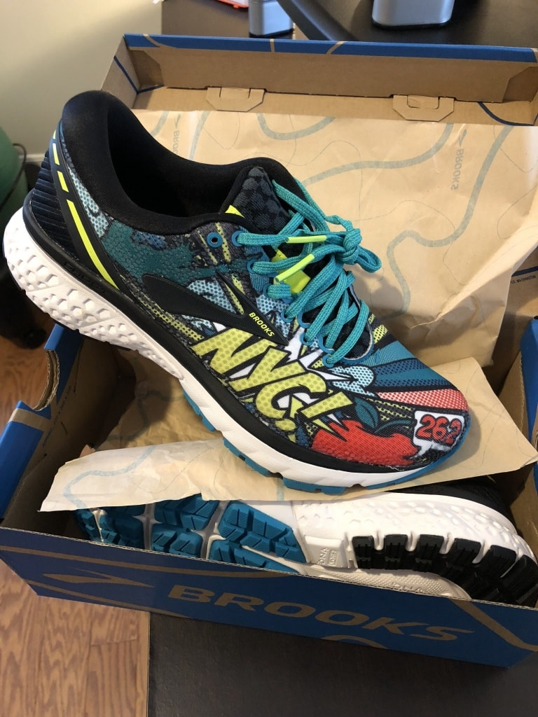 brooks nyc marathon shoes