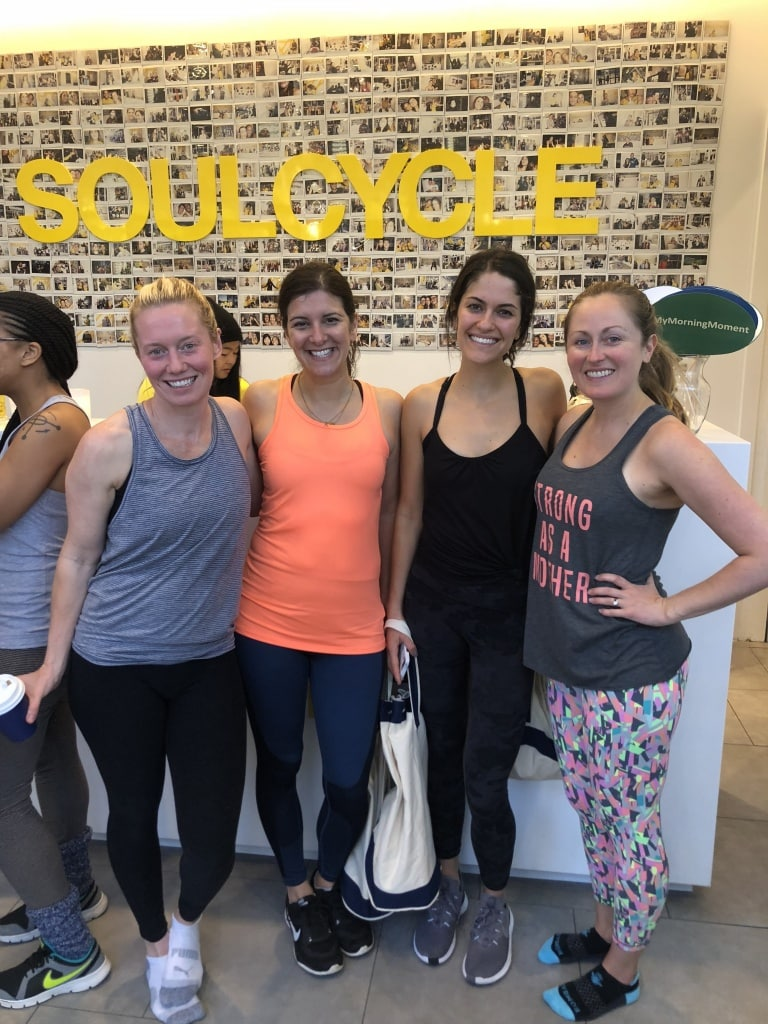 soulcycle bloggers