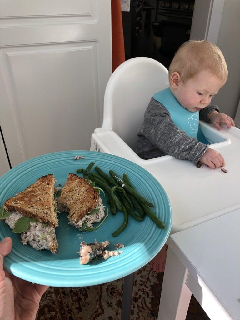 baby led weaning sardines