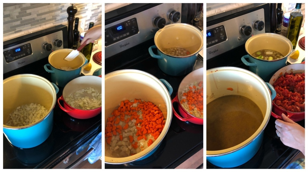 batch cooking italian soup and sauce three ways