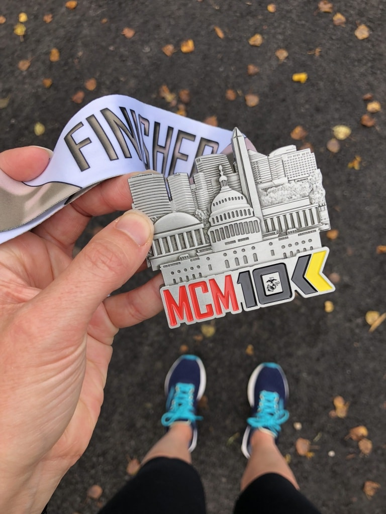 marine corps 10k medal review