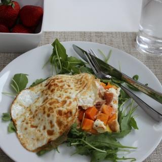 easy egg strata recipe