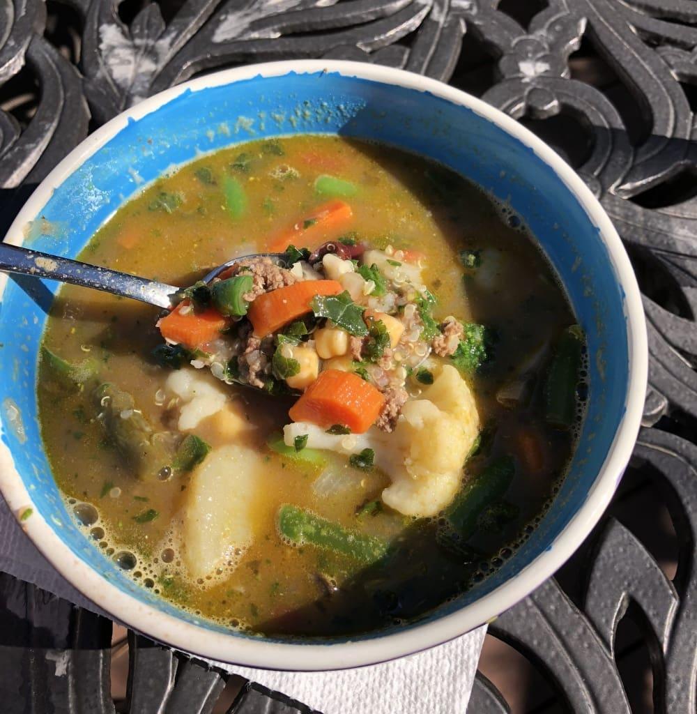 minestrone soup quinoa