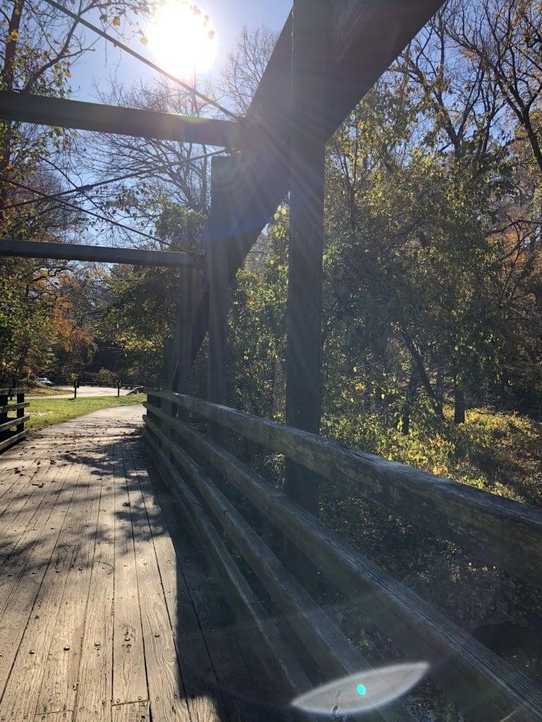 rock creek park running trail