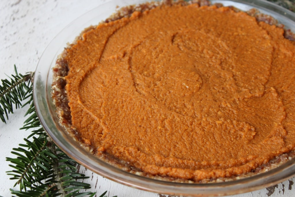 no bake pie crust pumpkin