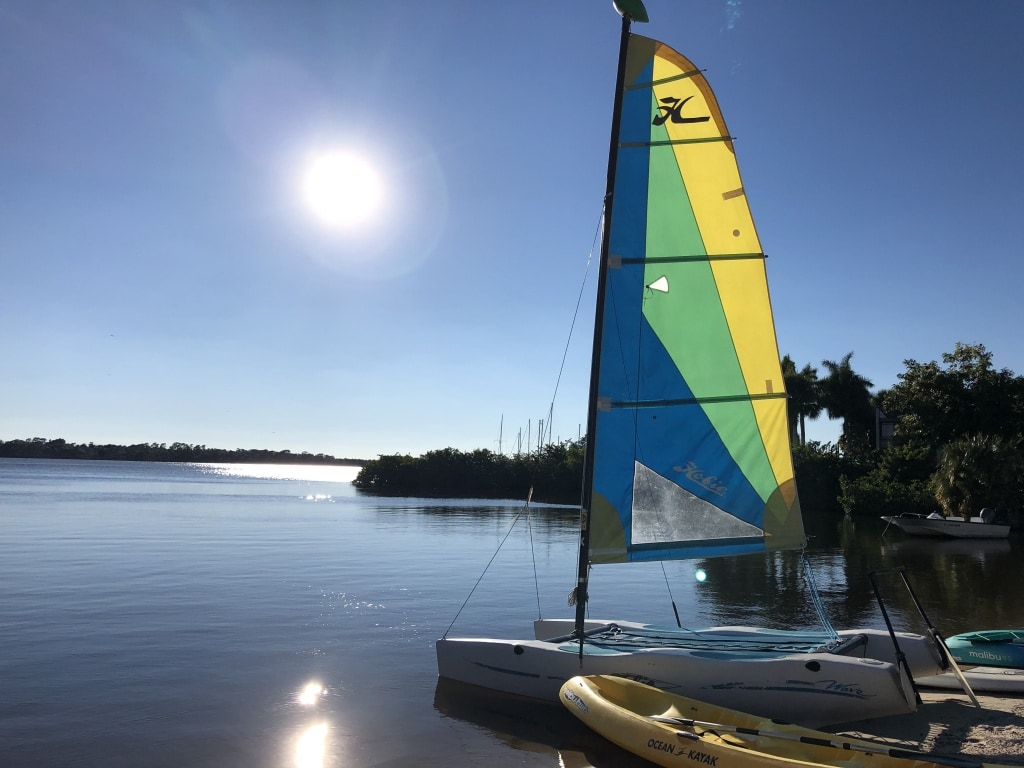 club med sandpiper bay sailing