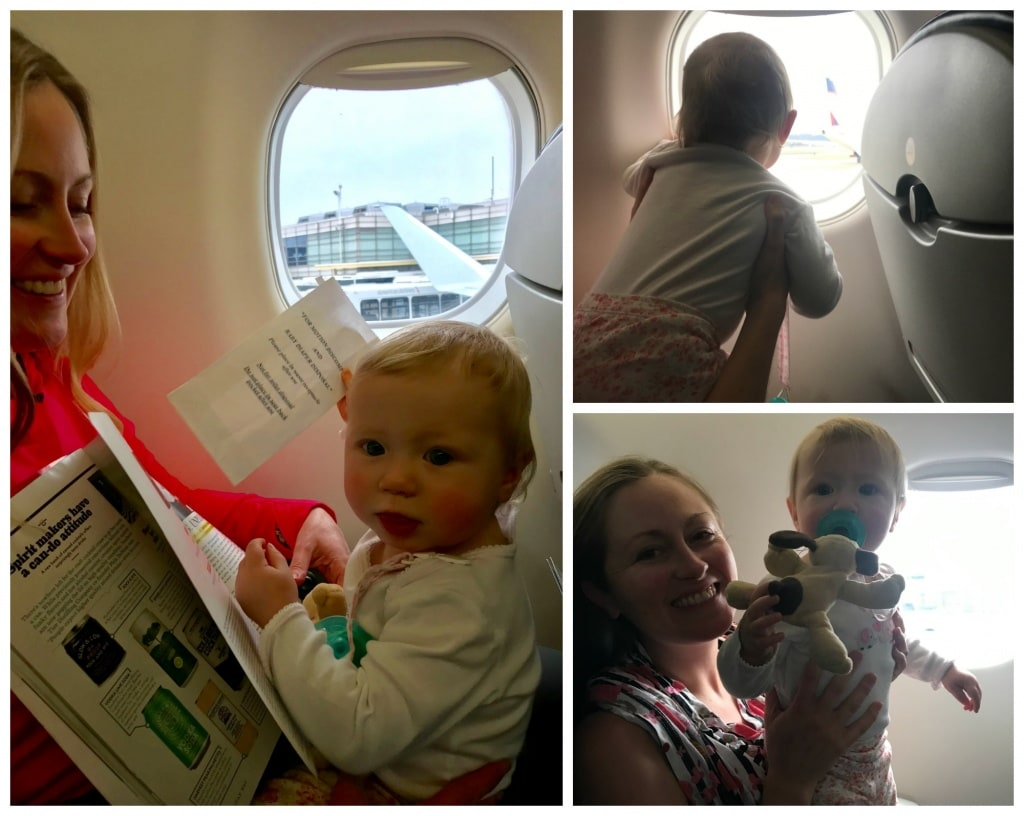 air travel with one year old