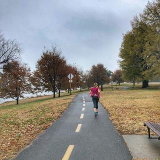 mt vernon trail running