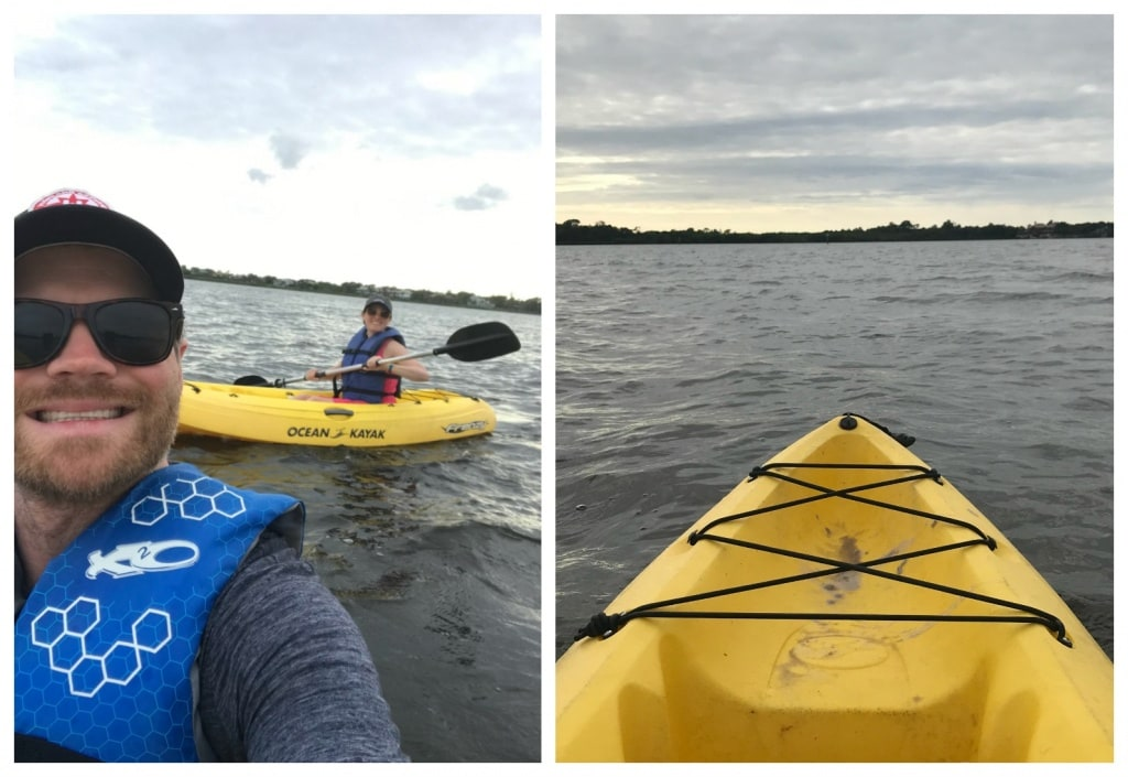 kayaking club med sandpiper bay