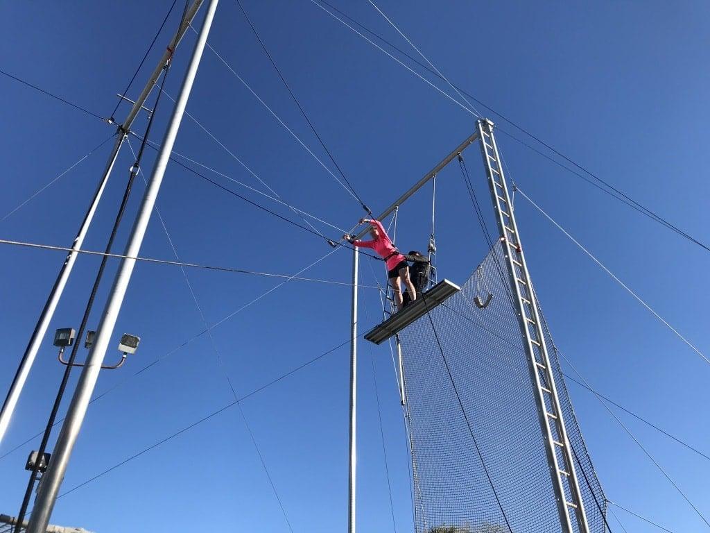 trapeze club med sandpiper bay