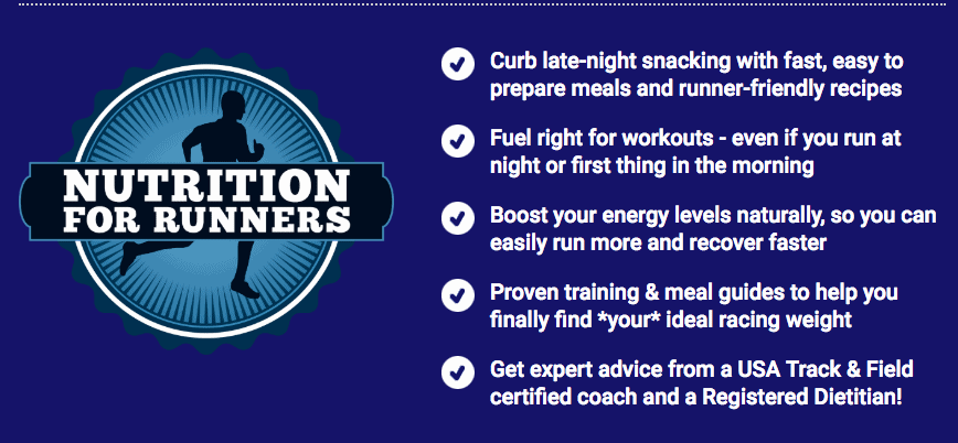 nutrition for runners program