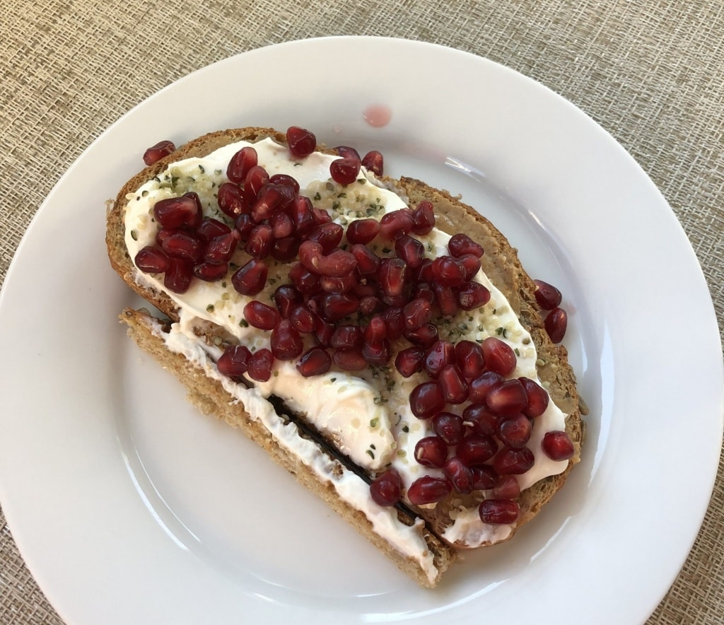 how to use pomegranate arils