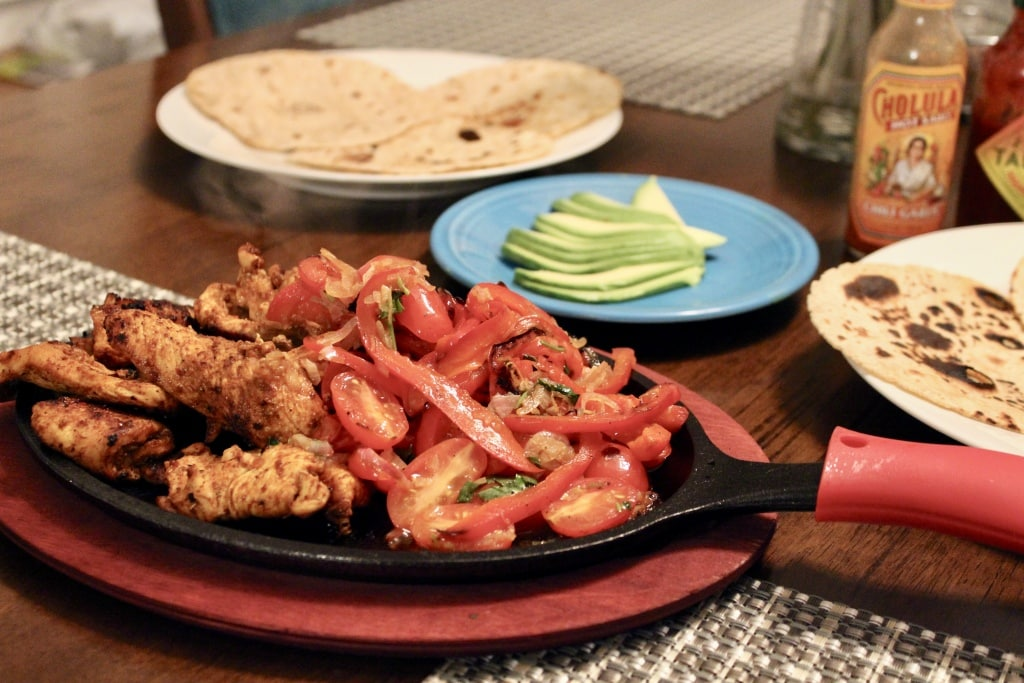 easy homemade fajitas