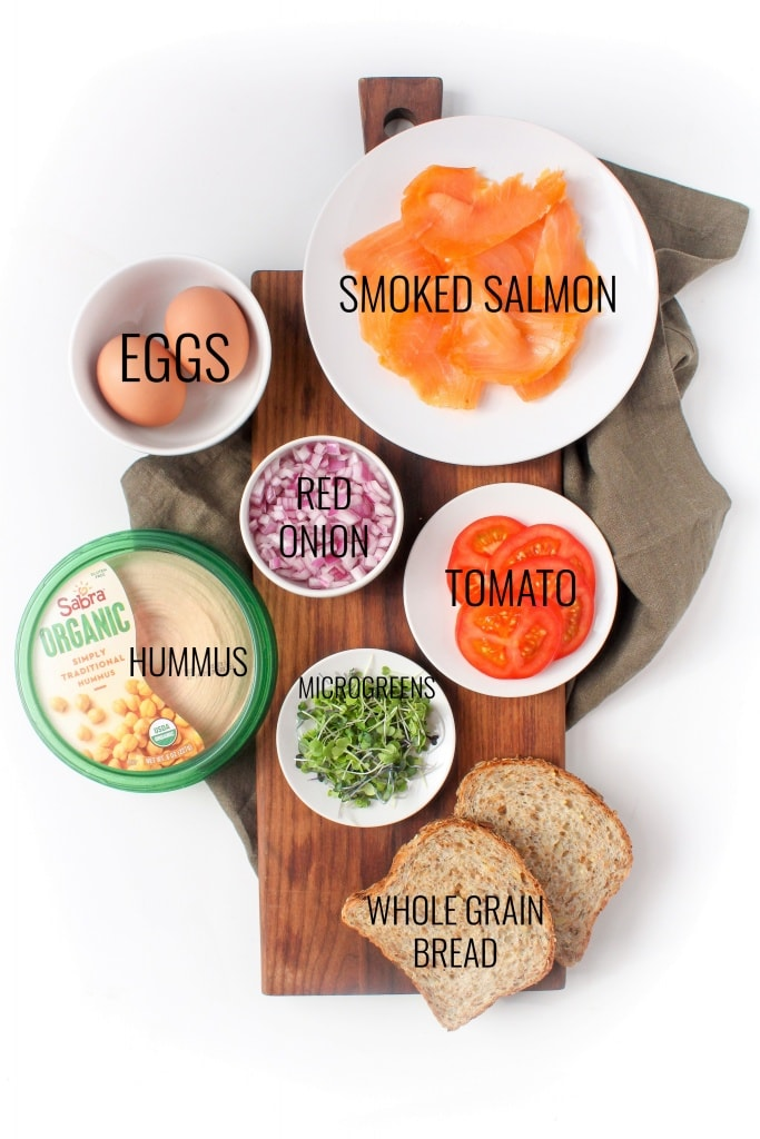 hummus toast ingredients