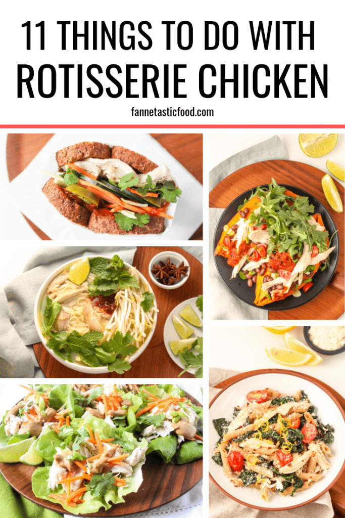 things to do with rotisserie chicken