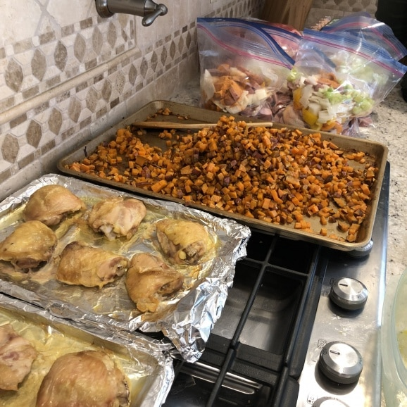 meal prep party how to do