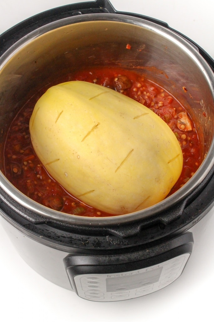 how to cook spaghetti squash in instant pot