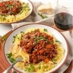 instant pot lentil bolognese
