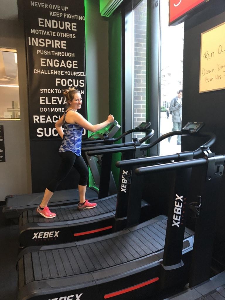 motorless manual treadmill