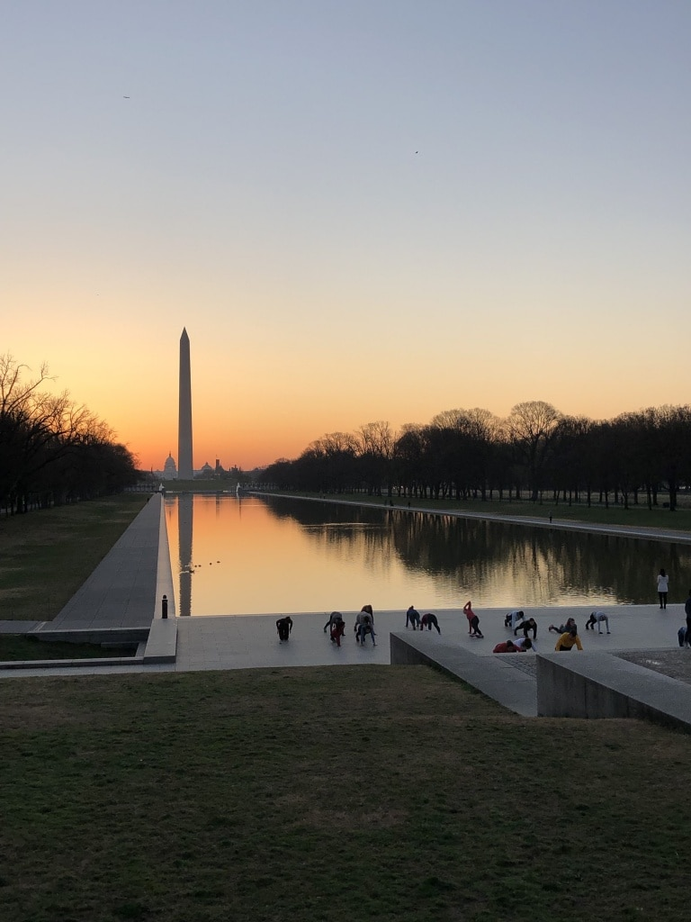 how to run the dc cherry blossoms at sunrise
