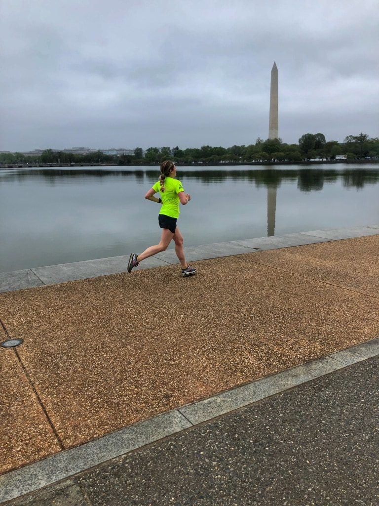 running the tidal basin in dc