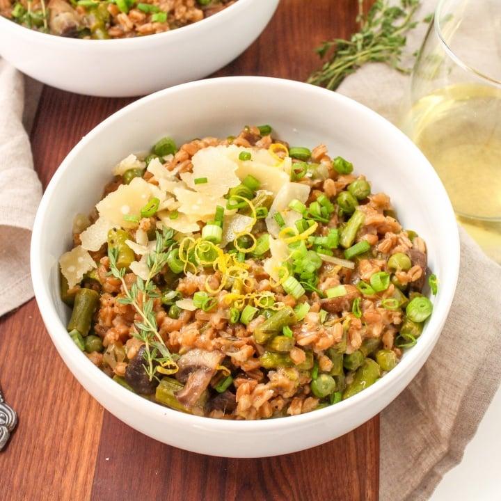 healthy instant pot risotto recipe