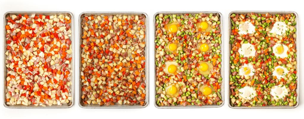 sheet pan breakfast hash how to make