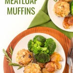 turkey dijon mini meatloaves