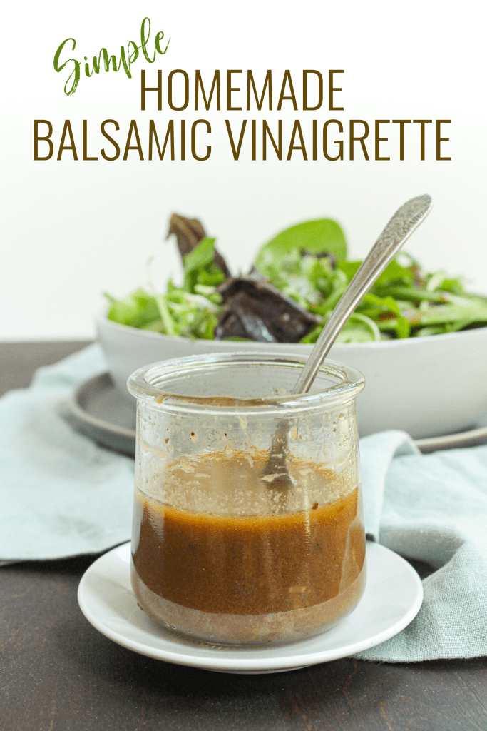 homemade balsamic vinaigrette easy recipe