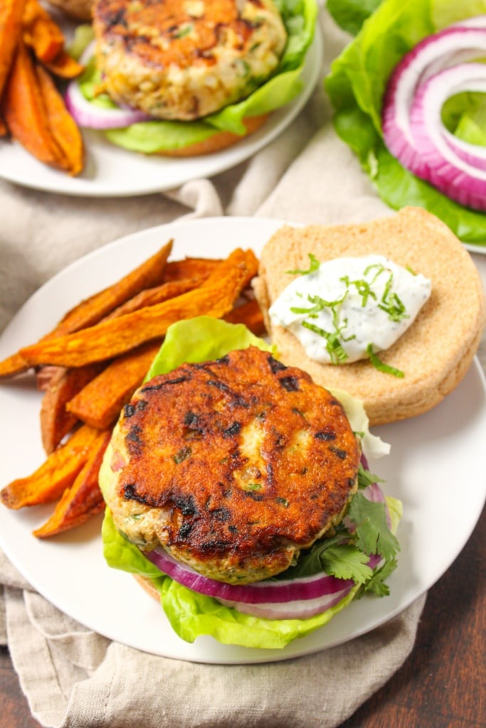 curry turkey burgers recipe