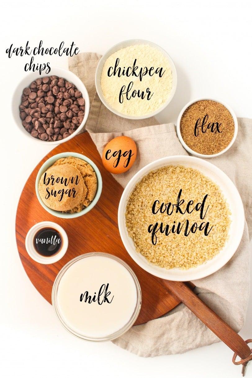 dark chocolate quinoa bar ingredients