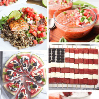 4TH OF JULY RECIPES using watermelon