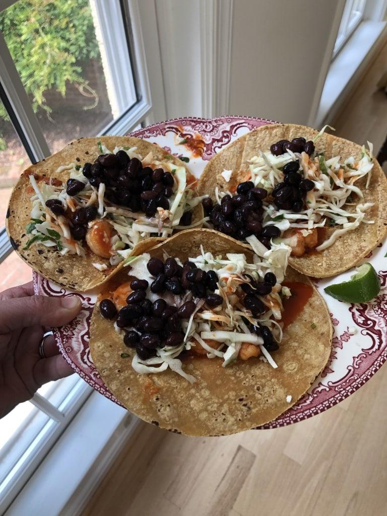 easy shrimp tacos at home