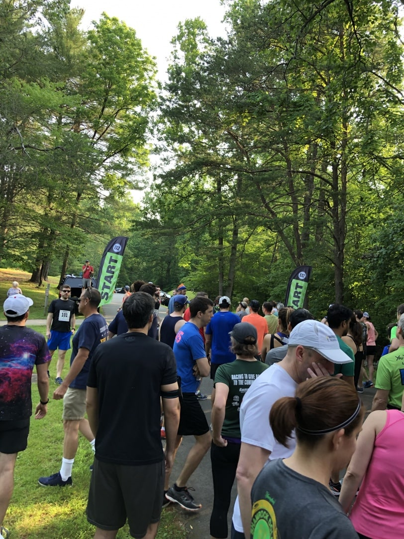 ex2 adventures trail race start