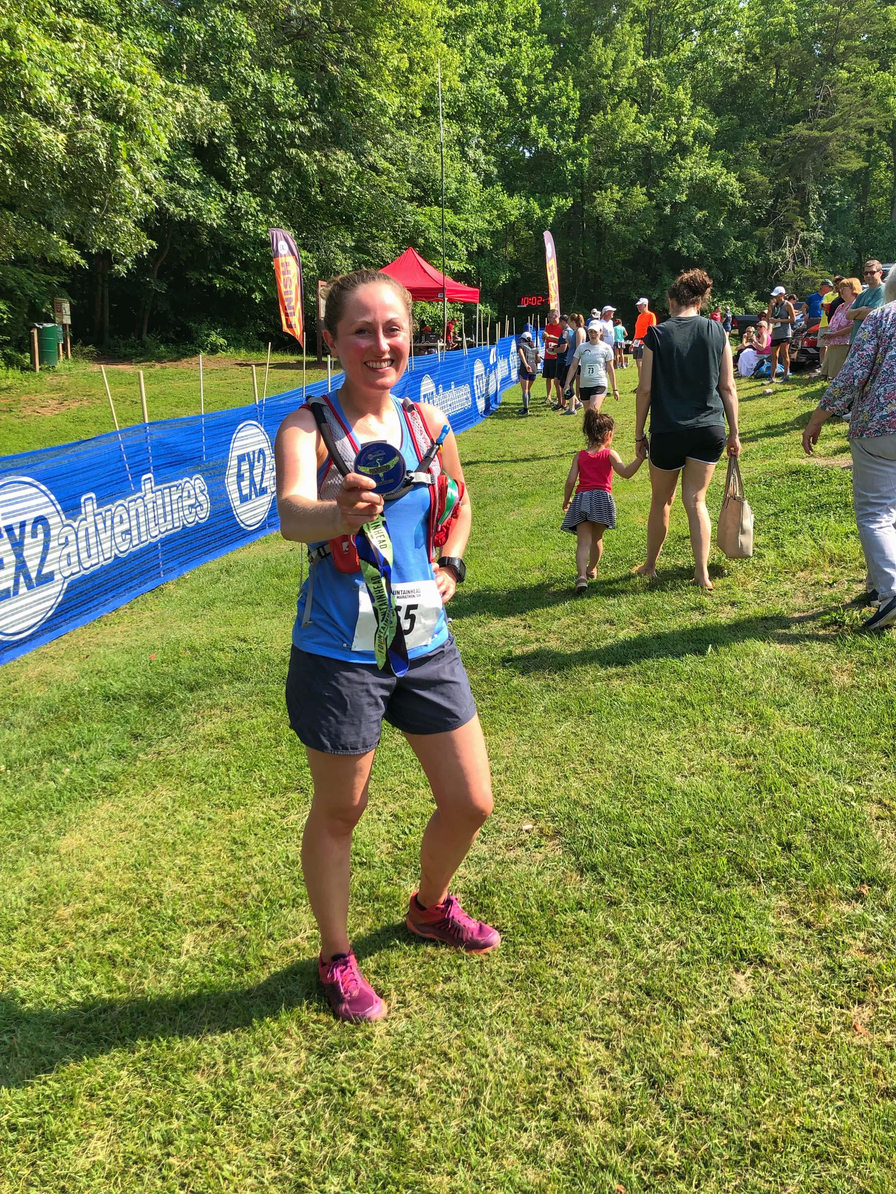 Fountainhead 10k Trail Run Race Recap
