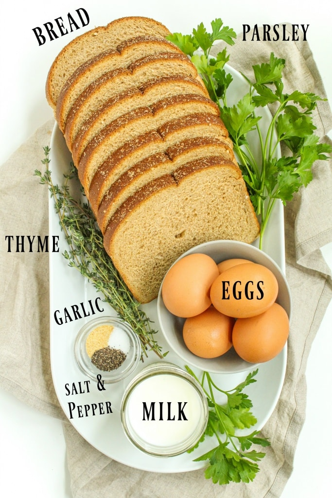 savory french toast ingredients