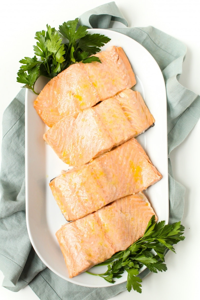 easy baked salmon recipe with lemon