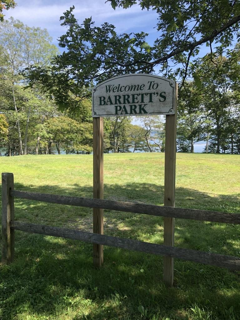 barrett park swimming