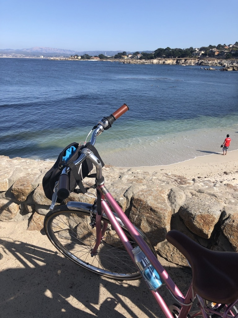 biking monterey california